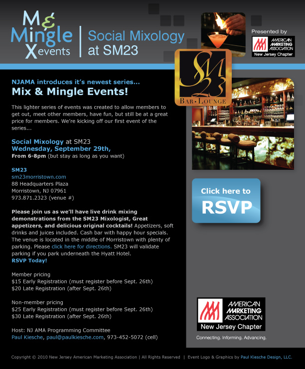 Mix and Mingle Invite