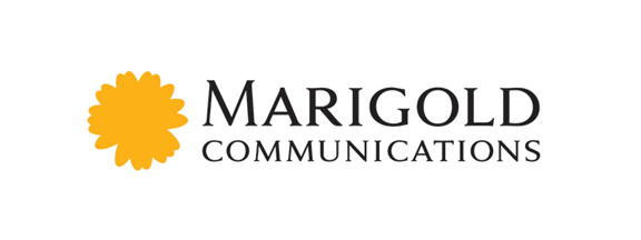 marigold communications logo design