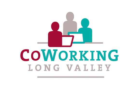 CoWorking Long Valley Logo Design