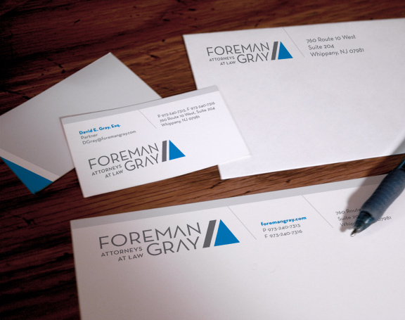 stationery design for nj attorney