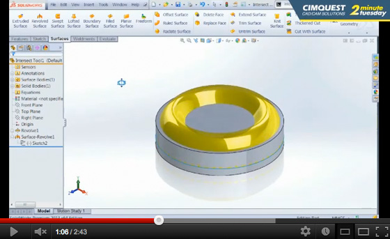 SolidWorks 2013 demonstration training videos