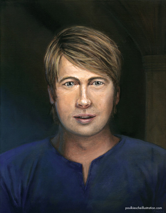 Evan Fantasy Portrait Painting