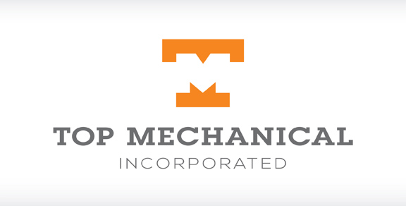 Top Mechanical Inc. Logo Design