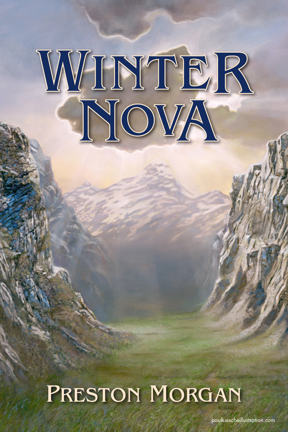 Winter Nova Fantasy Book Cover