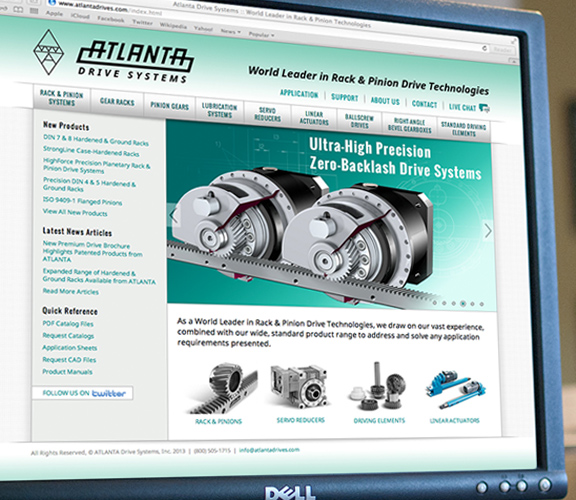 Best Industrial website Home Page