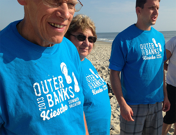 Outer banks t-shirt design