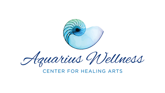 Aquarius Wellness Logo Design